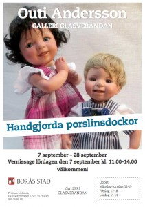 Outi Andersson vernissage på Galleri Glasverandan, Fristad